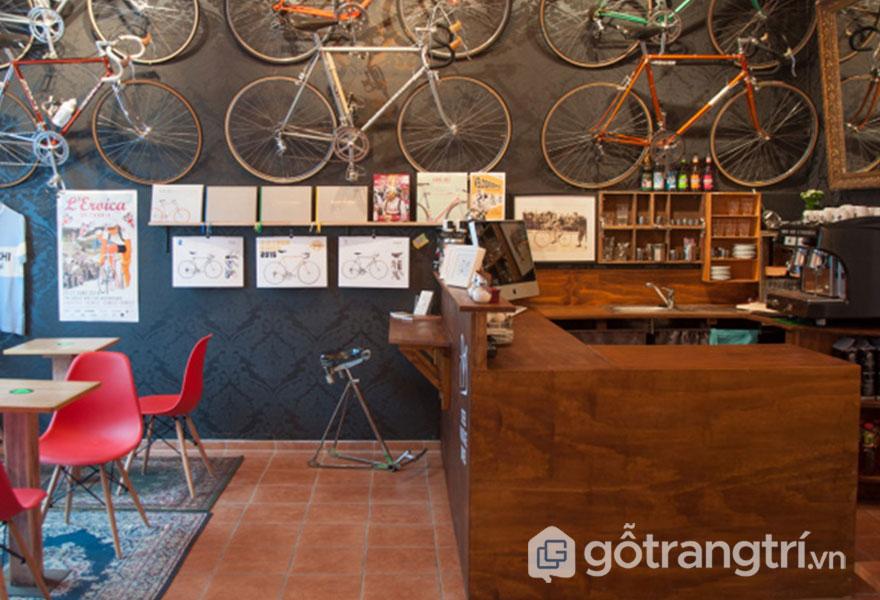 Quán cafe đậm chất vintage (Ảnh: Internet)