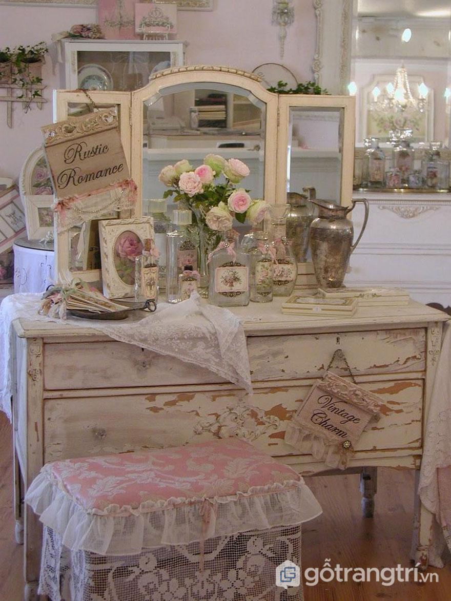 Các món đồ hay dùng trong phong cách Vintage (Ảnh: Internet)