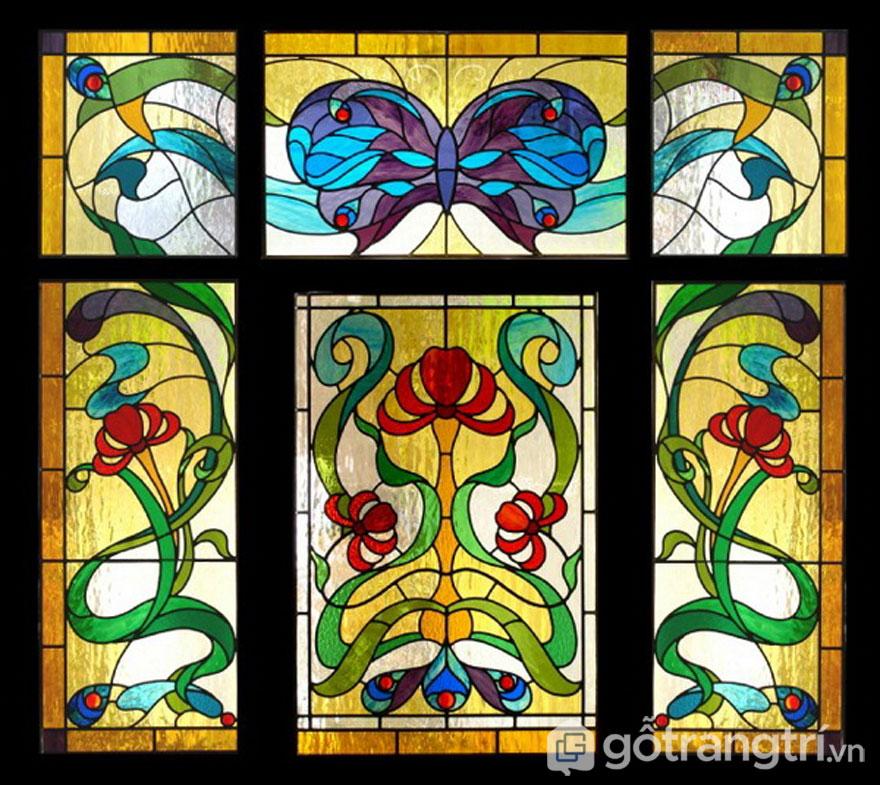 Phong cách Art Nouveau đặc trưng cơ bản là những đường cong, các hình thức thiên về tự nhiên như tiên nữ, côn trùng và cỏ dại (Ảnh: Internet)