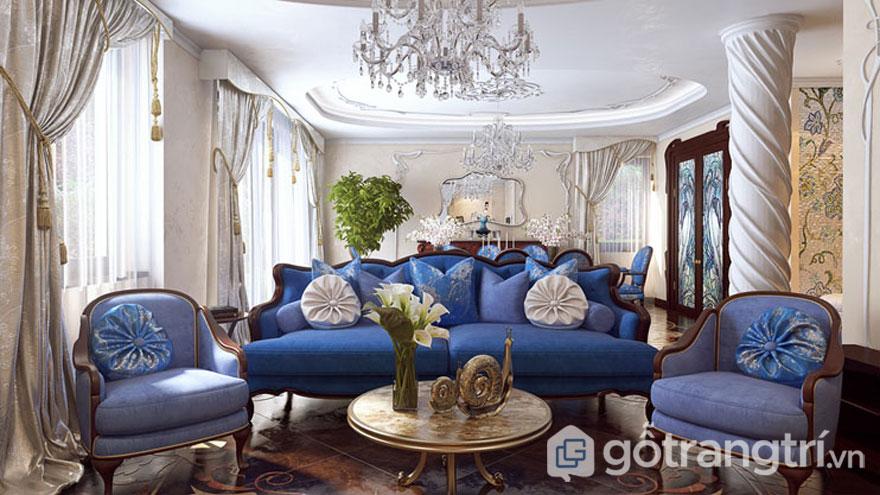 Art Nouveau trong thiết kế nội thất (Ảnh: Internet)