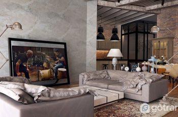 Tìm hiểu đặc trưng cơ bản của phong cách công nghiệp trong nội thất