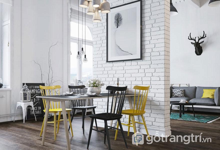 Phong cách công nghiệp trong nội thất thể hiện được sự mạch lạc, rõ ràng (Ảnh: Internet)