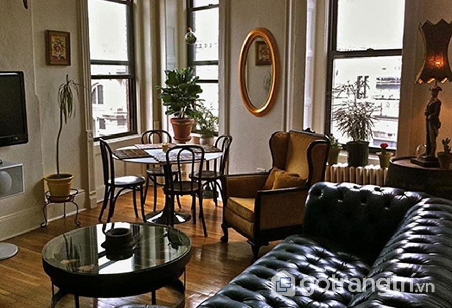 Nét đẹp hài hòa đến từ kết cấu, chất liệu, hay chi tiết trang trí (Ảnh: Apartmenttherapy)