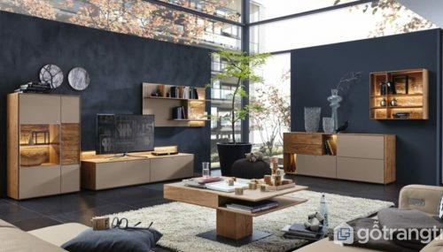Siêu cuốn hút: Phong cách đương đại trong thiết kế nội thất chung cư
