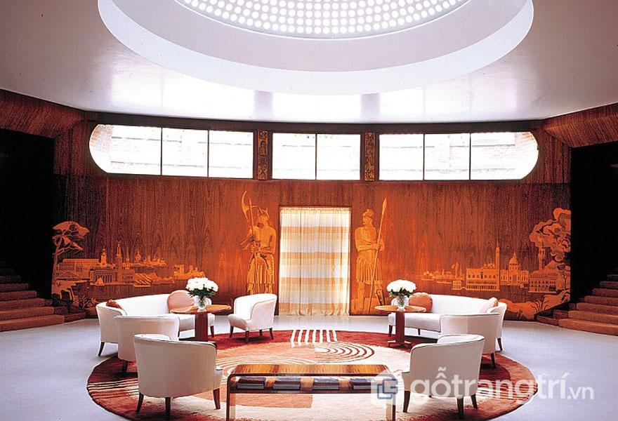 Lâu đài Eltham, ngôi nhà tuổi thơ của Vua Henry VIII mang phong cách kiến trúc Art Deco (Ảnh: Internet)