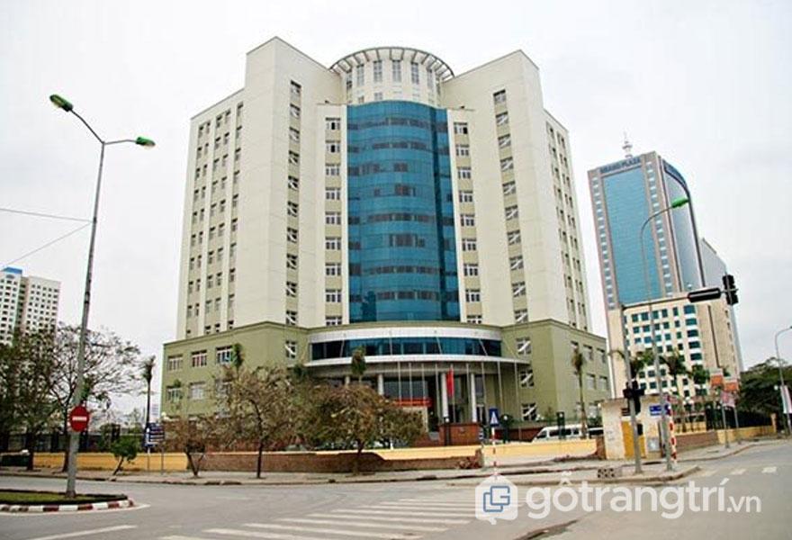 Trụ sở bộ Khoa học và Công nghệ mang phong cách kiến trúc Art Deco (Ảnh: Internet)