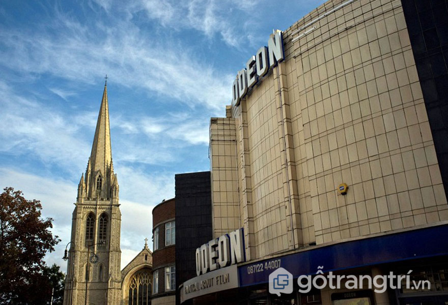 Rạp Odeon, Muswell Hill (Ảnh: Internet)