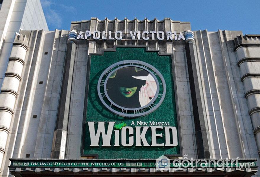 Nhà hát Apollo Victoria, Westminster - Phong cách kiến trúc Art Deco