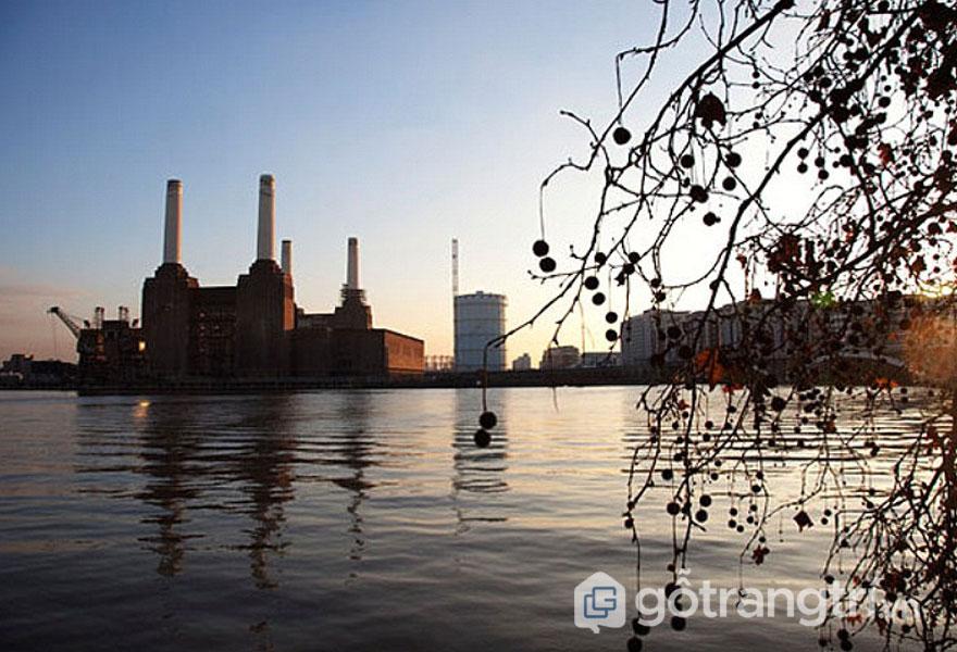 Nhà máy điện Battersea, Battersea - di sản art deco (Ảnh: Internet)