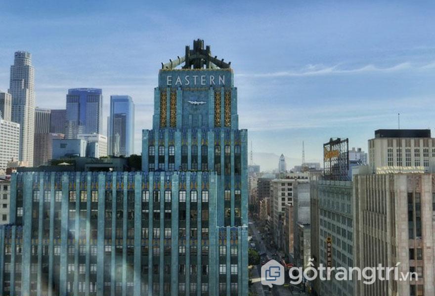 Tòa nhà Guardian. Detroi mang nhiều đặc điểm của phong cách kiến trúc Art Deco (Ảnh: Internet)