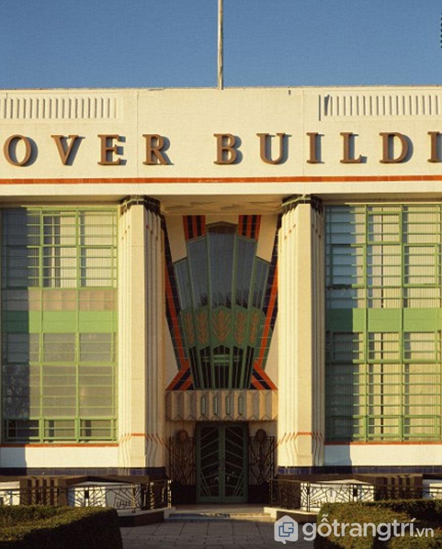 Tòa nhà Hoover, Perivale - tòa nhà art deco giờ thành siêu thị (Ảnh: Internet)