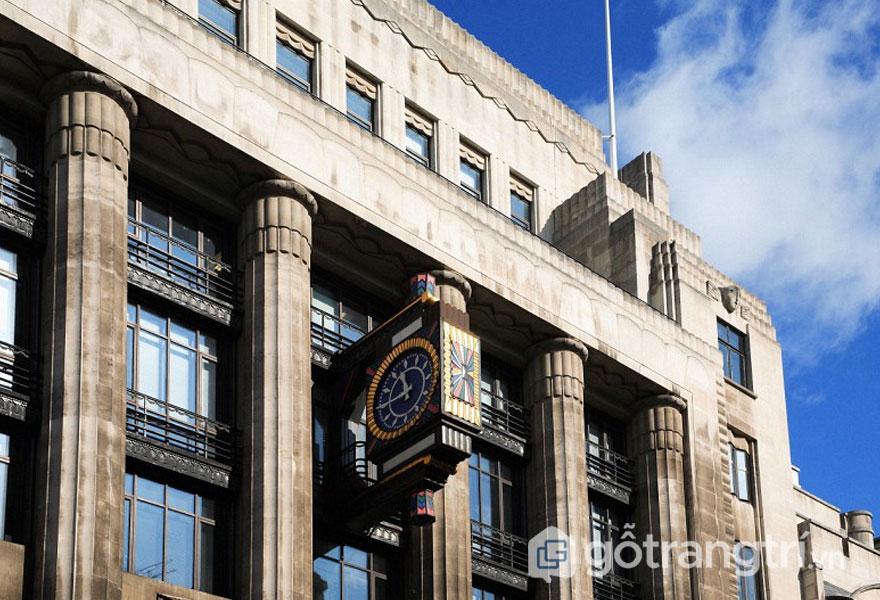 Tòa nhà Daily Telegraph, Tp Luân Đôn - Phong cách kiến trúc Art Deco (Ảnh: Internet)