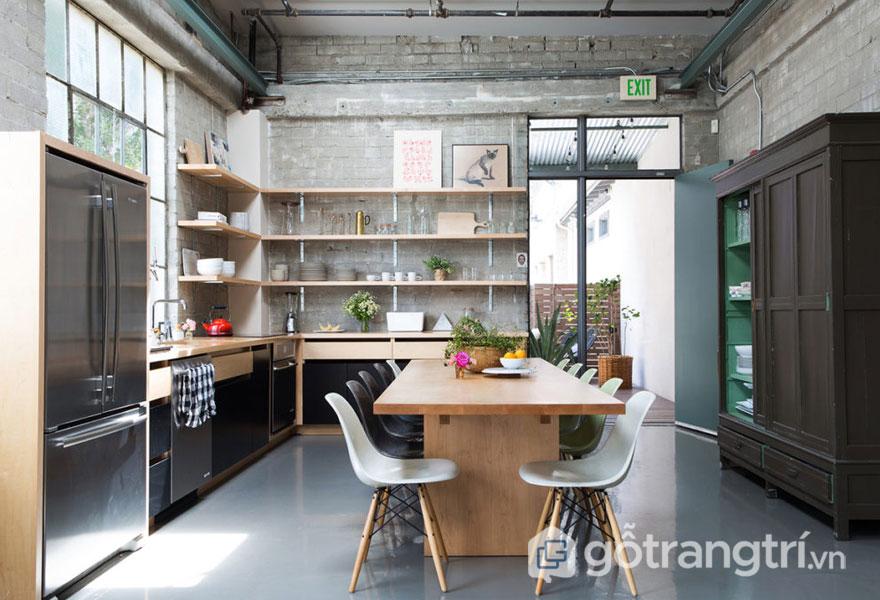 7 yếu tố độc nhất vô nhị giúp phong cách nội thất công nghiệp đẹp mê mẩn (Ảnh: Internet)
