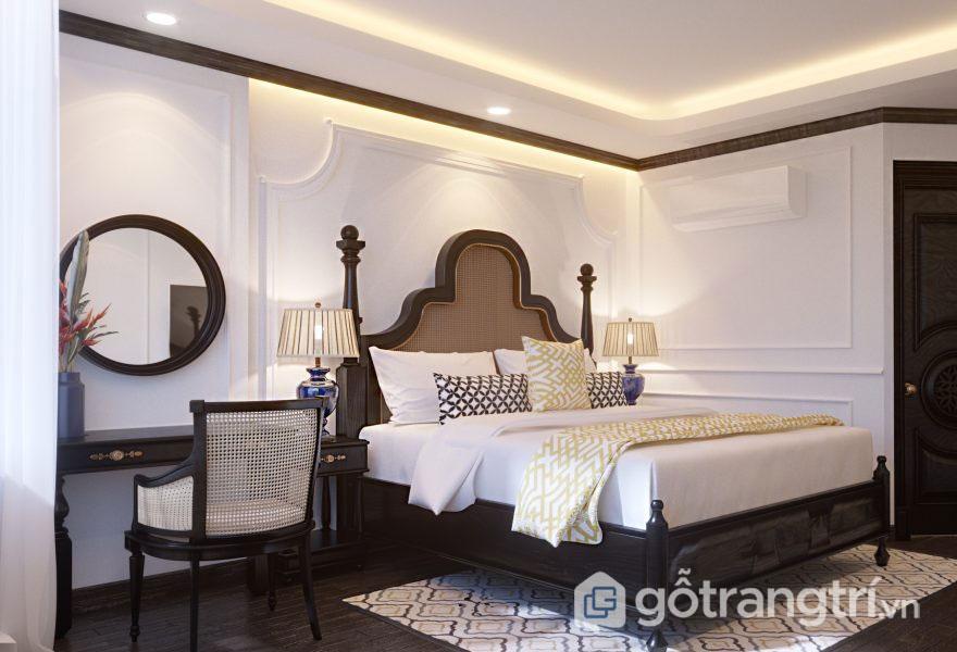 Phòng ngủ khách sạn (Ảnh: Internet)