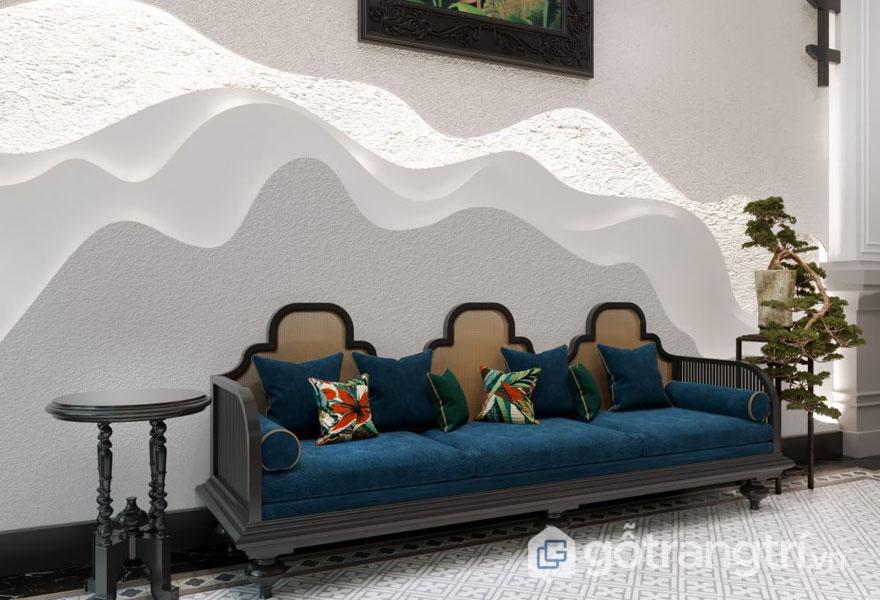 Ghế sofa chờ tại khu vực sảnh của khách sạn (Ảnh: Internet)
