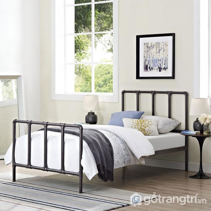Tối giản đồ đạc và tạo cảm giác thư thái mà phòng ngủ Rustic hướng tới (Ảnh: Internet)