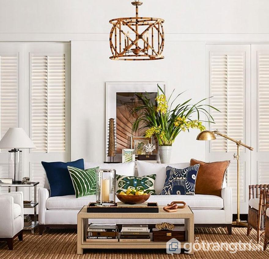 Phong cách nội thất tropical mang thiên đường biển vào trong nhà (Ảnh: Internet)