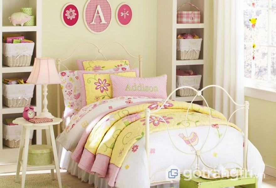 Tạo phông nền cho phòng ngủ bằng gam màu nhẹ nhàng, trung tính (Ảnh: Internet)