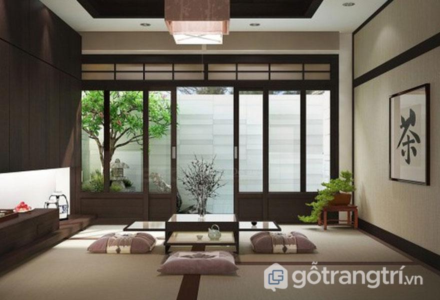 Khủng cửa sổ rộng lớn để đưa thiên nhiên vào trong phòng (Ảnh: Internet)