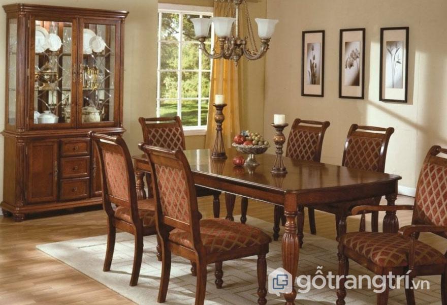 Phong cách retro trong thiết kế nội thất chú trọng đến màu sắc và chất lượng (Ảnh: Internet)