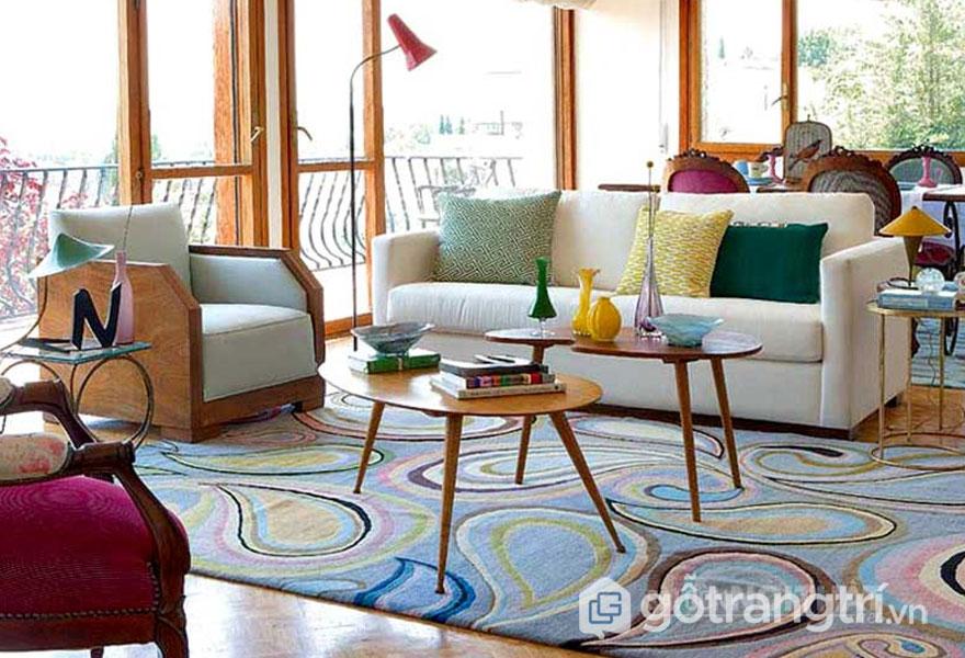 Học cách trang trí nhà theo phong cách retro style dành cho bạn trẻ cá tính (Ảnh: Internet)