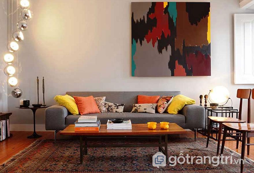 Phong cáchRetro Style trong thiết kế nội thất (Ảnh: Internet)