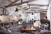 Áp dụng phong cách rustic trong nội thất và tiệc cưới như thế nào?