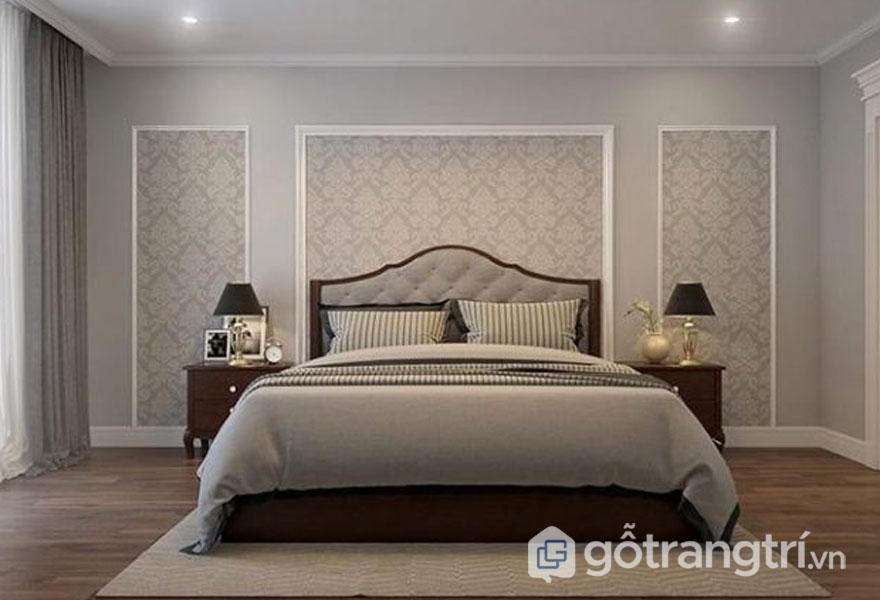 Phòng ngủ nội thất tân cổ điển (Ảnh: Internet)