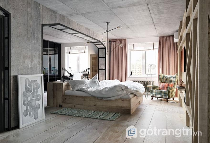 Phòng ngủ khá rộng lớn (Ảnh: Internet)