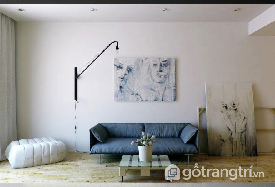 Màu sắc trung tính được sử dụng khá nhiều trong nội thất (Ảnh: Internet)