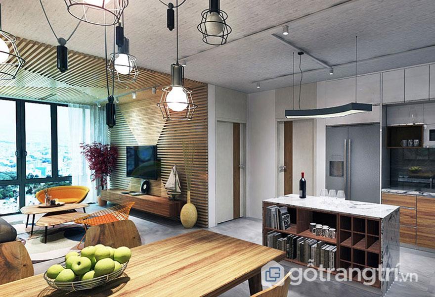 Làm thế nào đưa phong cách vintage trong thiết kế nội thất phòng khách? (Ảnh: Internet)