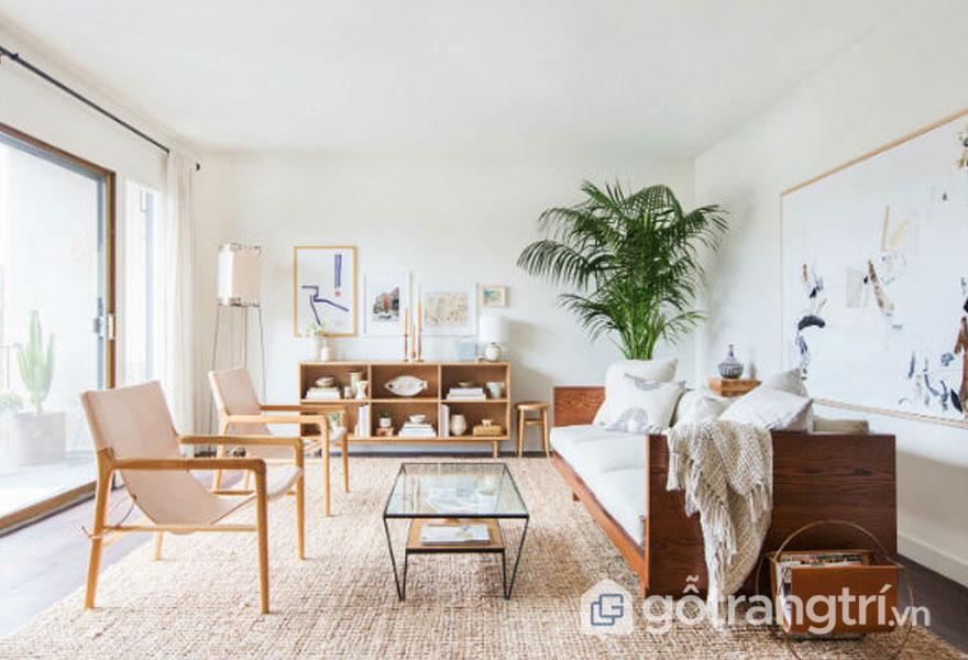 Phong cách zen trong thiết kế nội thất hướng đến sự tối giản (Ảnh: Internet)