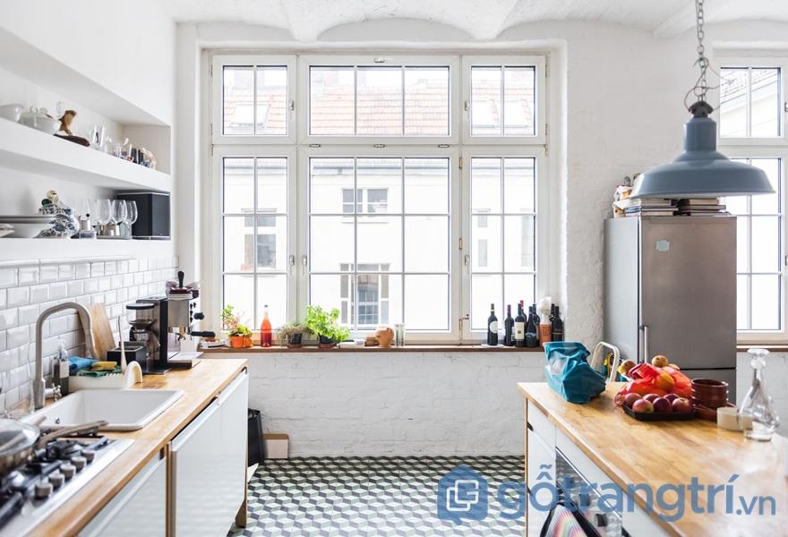 Nhà bếp không nên đặt tại vị trí trung tâm căn nhà - ảnh internet