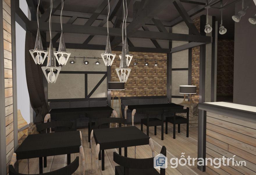 Lộ diện 3 quán cafe phong cách công nghiệp ở Sài Gòn siêu cuốn hút (Ảnh: internet)