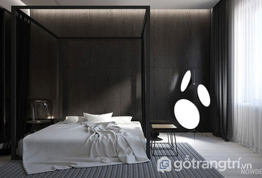 Ánh sáng tự nhiên qua ô cửa sổ chiếu vào phòng ngủ (Ảnh: Internet)