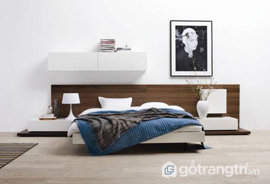 Phòng ngủ khá ít đồ (Ảnh: Internet)