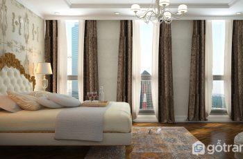 Ngất lịm trước mẫu thiết kế nội thất chung cư tân cổ điển siêu quyến rũ