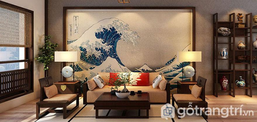 Mẫu phòng khách mang đến vẻ đẹp sang trọng, uy quyền của gia chủ (Ảnh: Internet)