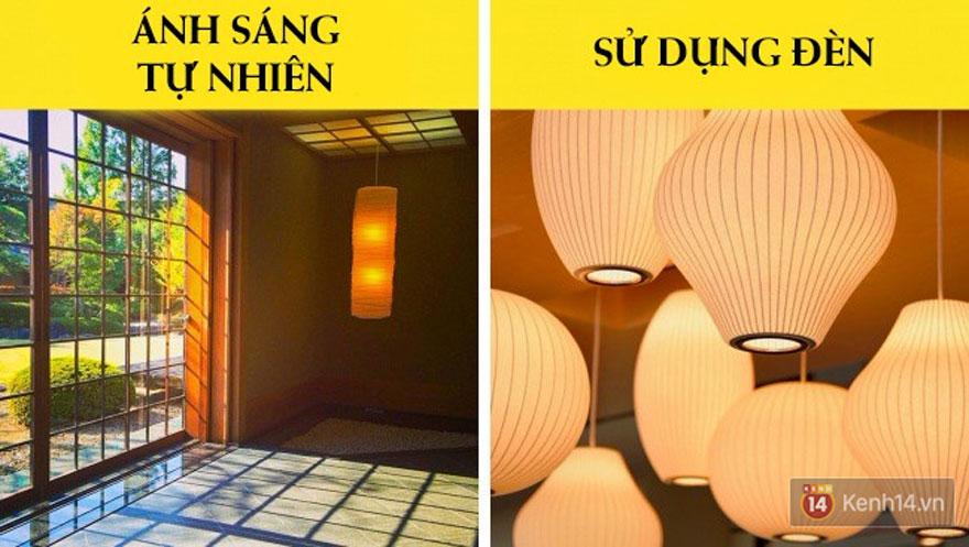 Đưa ánh sáng tự nhiên hay nhân tạo vào trong ngôi nhà (Ảnh: Internet)