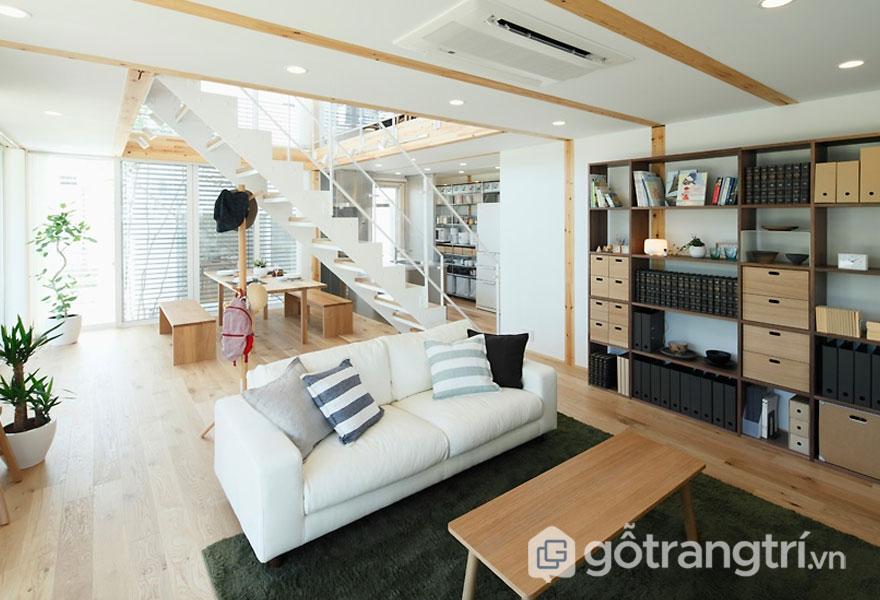 Người Nhật rất yêu mến vẻ đẹp của nội thất gỗ (Ảnh: Internet)