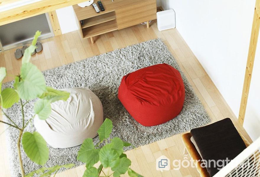 Nệm tạo điểm nhấn cho không gian ngôi nhà (Ảnh: Internet)