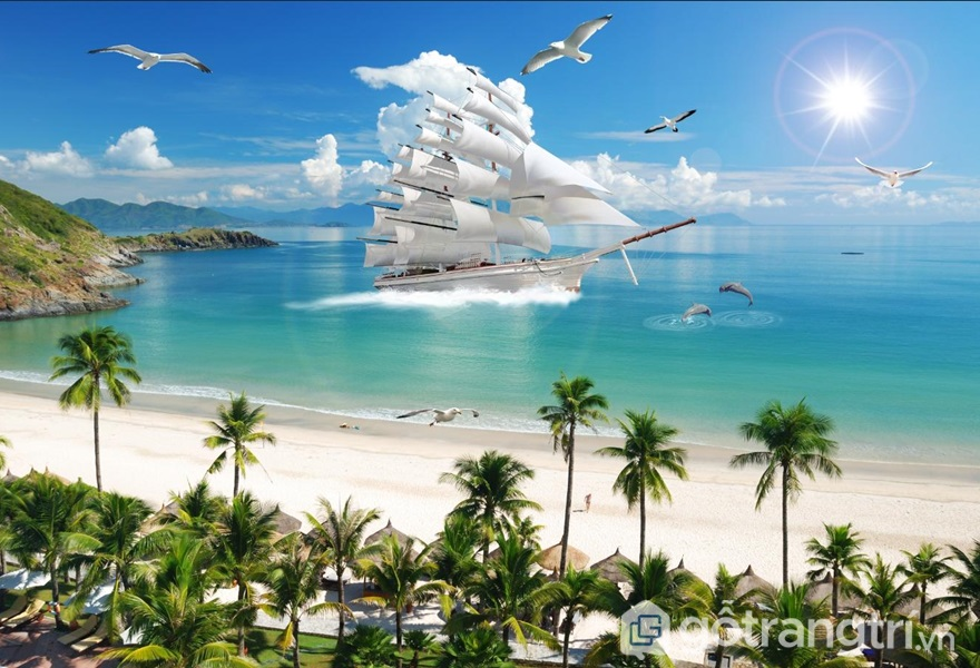 Tranh thuận buồm xuôi gió - ảnh internet