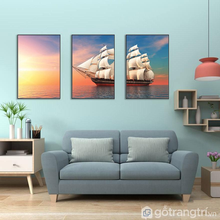 Chọn màu tranh phù hợp với nội thất sẽ mang đến hiệu ứng tuyệt vời!