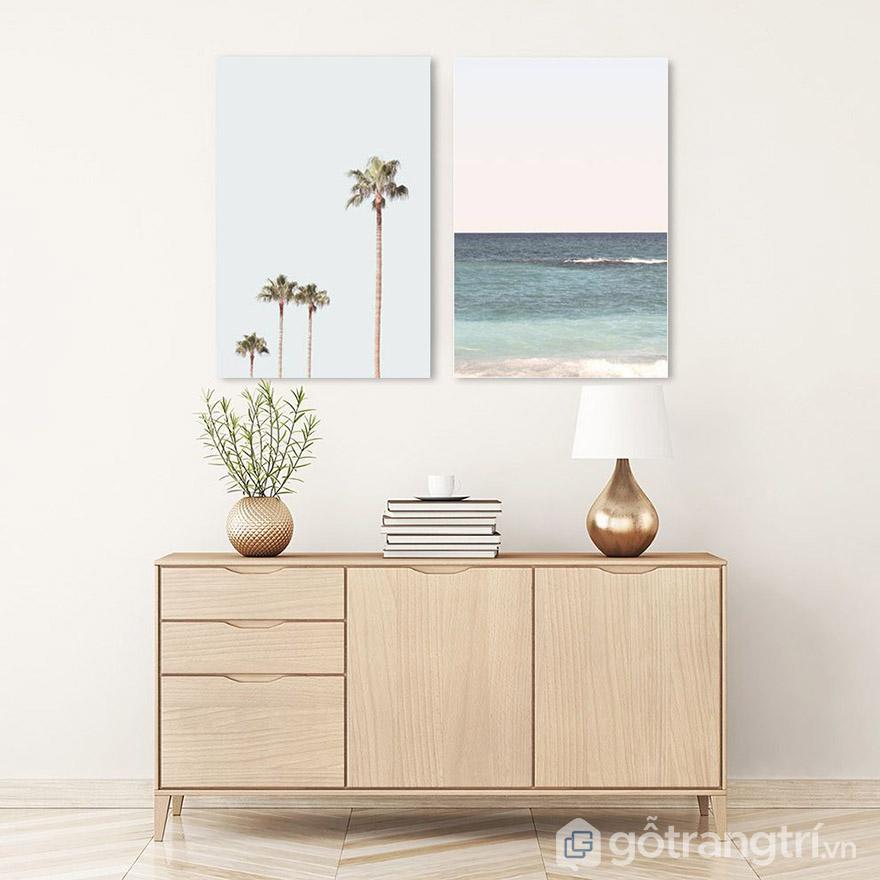 Không cần quá cầu kỳ, chỉ cần chọn tranh Canvas phù hợp với nộ thất là đủ.
