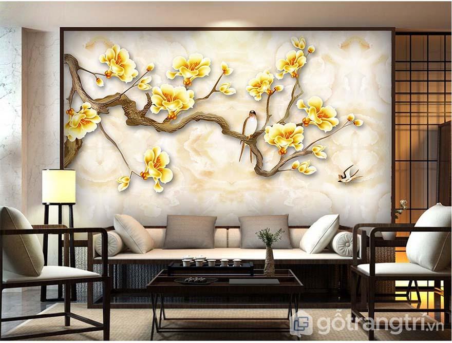 Chọn tranh nghệ thuật đẹp cần chú ý kích thước, màu sắc và loại tranh cho phù hợp.