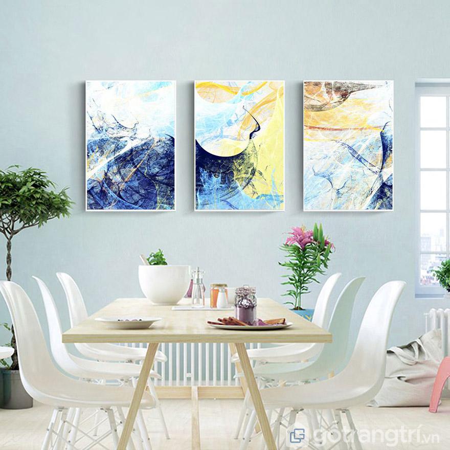 Tranh nghệ thuật là sự phối hợp cực đỉnh giữa các màu sắc.