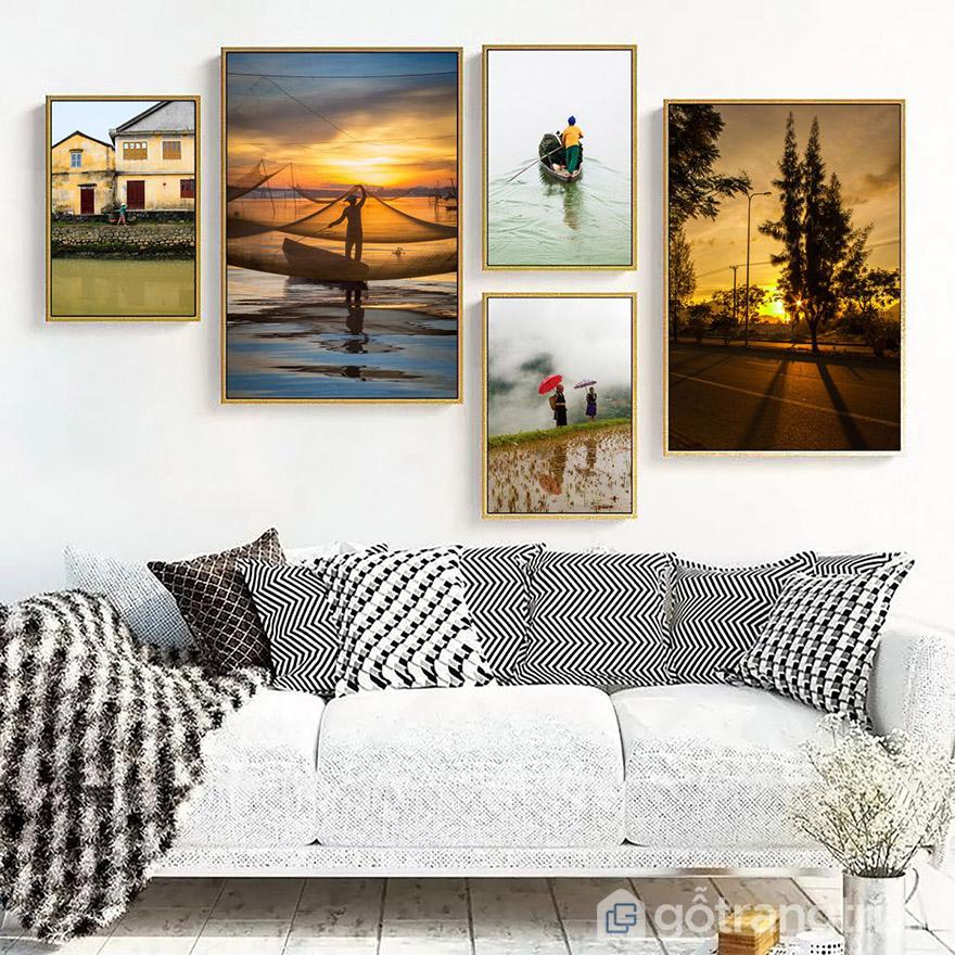 Những bức tranh nghệ thuật thường mang ý nghĩa về cuốc ống
