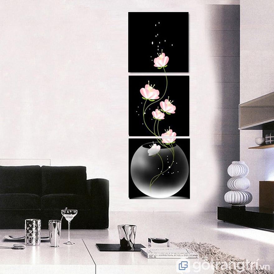 Góc không gian nào cũng có thể sử dụng tranh nghệ thuật hiện đại.