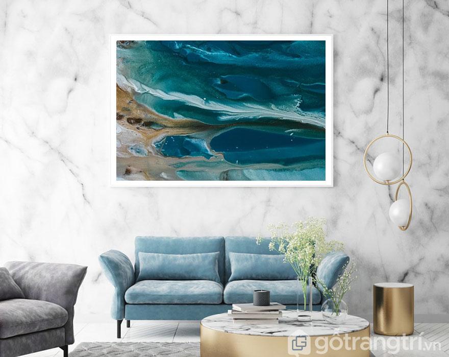 Một chút sóng, một chút hương biển cho không gian thêm thoáng rộng.