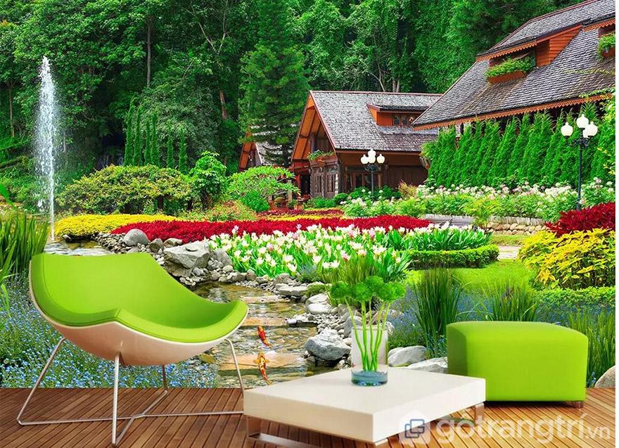 Có ngay không gian xanh thư giãn ngay trong phòng khách nhà bạn.